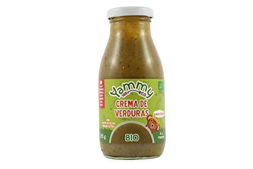 Yammy Crema Ecológica De Verduras Para Bebés A Partir De +4 Meses 255Gr 6 Unidades 2000 g