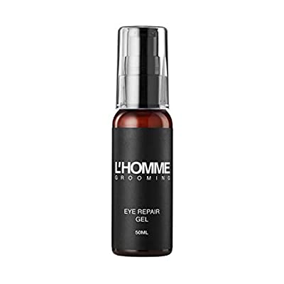 L'Homme Grooming Eye Repair Gel for Men — All-Natural Wrinkle and Fine Line Reduction (50ml)