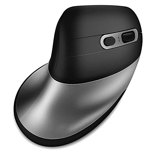 Bluetooth Ergonomic Mouse,Multi Device Vertical Mouse,Rechargeable Bluetooth Mouse 5 Button and 3 DPI for Laptop/MacBook/Windows-MS056