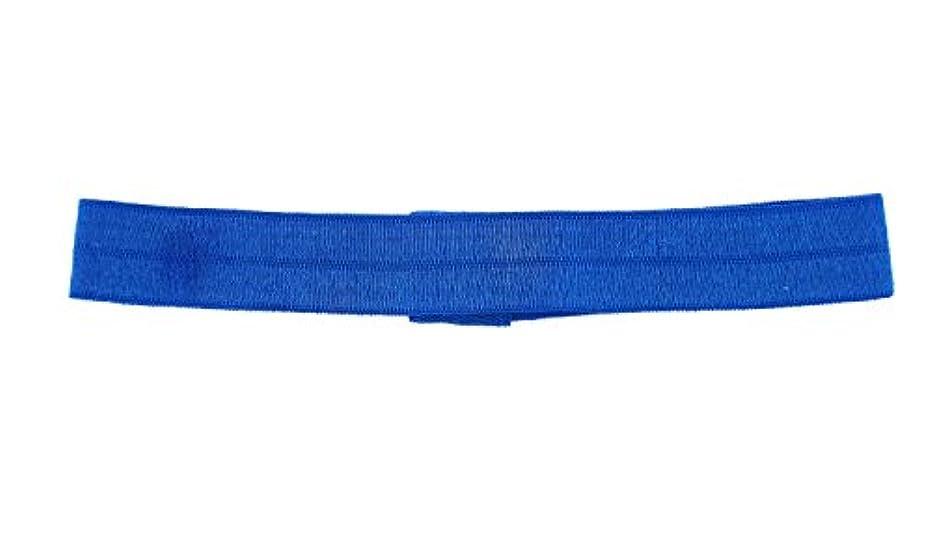 Trimweaver 10-Piece Fold Over Elastic Headband for Craft, Electric Blue