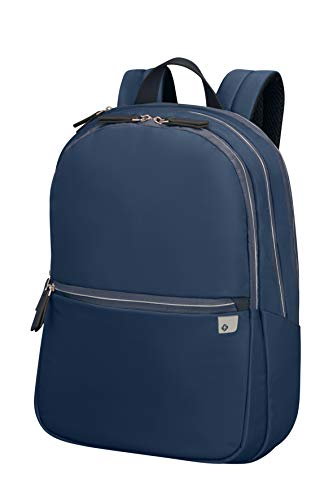 Samsonite Eco Wave - 15.6 Zoll Laptoprucksack, 43 cm, 19 L, Blau (Midnight Blue)