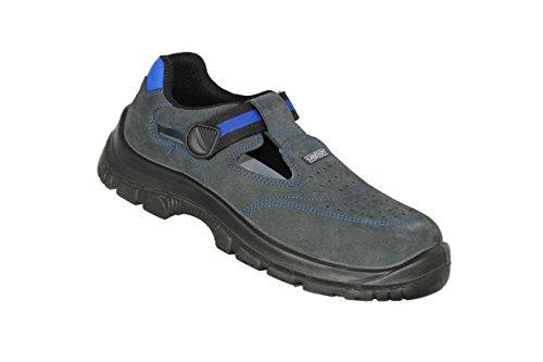 SANTOS Belinga S1 SRC Sicherheitsschuhe Arbeitsschuhe Sandale Blau B-Ware, Größe:42 EU