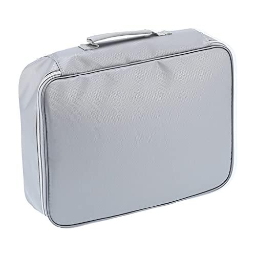 Kadimendium Bolso incombustible del Archivo, Prenda Impermeable fácilmente doblada del Organizador del documento incombustible para Acampar al Aire Libre