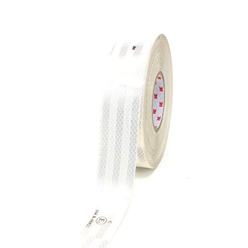 3M Diamond Grade 983 Scotchlite contourmarkering 55mm reflecterende folie reflecterende band - Finest Folia 3 Meter wit-10