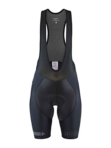 Craft Damen Specialiste Bib Shorts, Black-Grey, XS