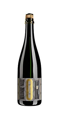 Kolonne Null - Prickelnd Cuvée Blanc No 01 - Schäumendes Getränk aus Alkoholfreiem Wein vom Weingut Freiherr von Gleichenstein - 750 ml