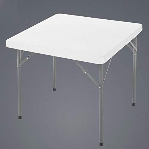 LLA kunststof opvouwbare butler ontbijt service-laptop bijzettafel 88 * 88cm