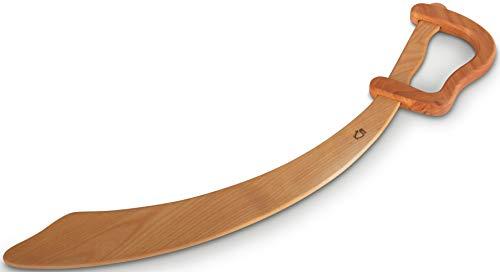 BestSaller Bestsaller1121 1121 Piratensäbel aus Holz, 56cm lang, natur (1 Stück)