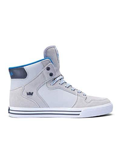 Supra Vaider Light Grey Brilliant Blue White S28288 Sneaker US9/EU42,5