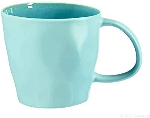 ASA Tasses à café TURQUOISE ALAPLAGE 8,5 cm, h 8 cm, 0,18 l 12151098