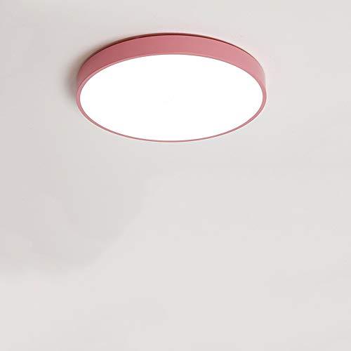 HviLit 12/24/36 / 48W Dimmable LED Plafonnier convenant anti-éblouissement Garçon Fille Garçon Ronde Lampe de Plafond LED Multicolore Ultra-mince Ménage Intérieur Respectueux de l'environnement LED Pl