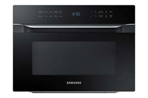 Samsung MC12J8035CT 1.2 cu. ft. Countertop Convection Microwave - Stainless Steel, Black