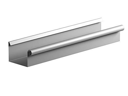 Kastendachrinne 2 Meter Länge NW 68 Aluminium