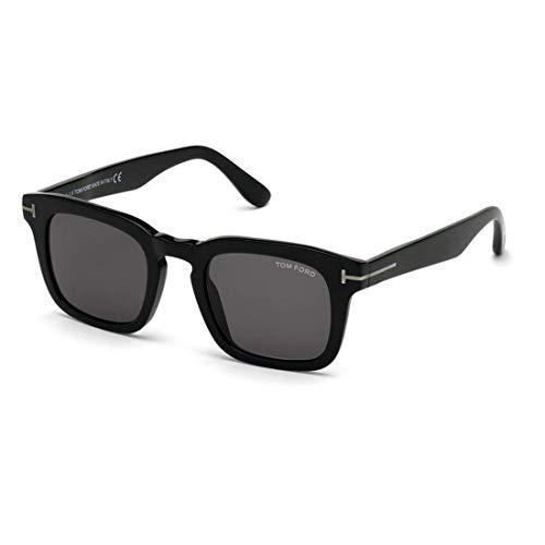 Tom Ford occhiale da sole FT0751-N 01A Nero fumo taglia 48 mm Uomo
