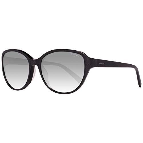 ESPRIT ET17879 55538 zonnebril ET17879 538 55 vlinder zonnebril 53, zwart