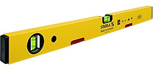 STABILA 2872 Wasserwaage Type 70 M, 40 cm,mitSeltenerd-Magnetsystem,Gelb