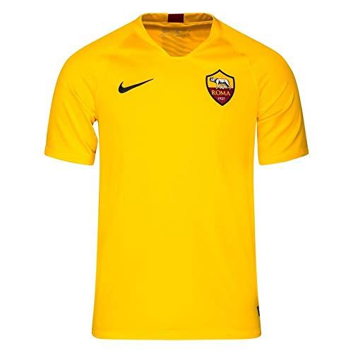 NIKE Roma BRT Strk Top SS Camiseta, Naranja, XL para Hombre