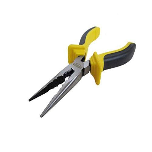 LONGWDS Alicates Conveniente for el hogar Reparación, Mantenimiento Industrial Es decir, al aire libre de múltiples funciones de la aguja nariz alicates Conjunto, 6 pulgadas (Color: Negro amarillo, ta
