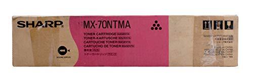 Sharp - Cartucho de tóner magenta para fotocopiadoras MX-6201N y MX-7001N MX-70NTMA