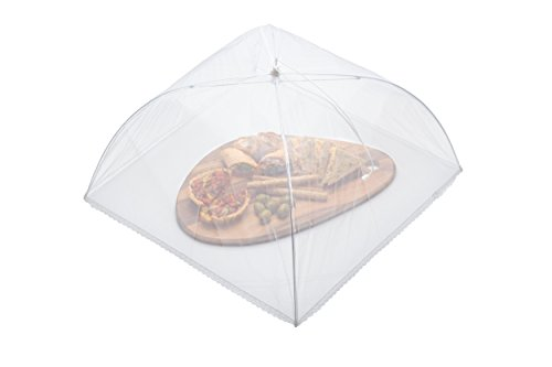 Kitchen Craft Large Umbrella-Style Folding Mesh Food Cover/Picnic Dome, 51 cm (20\