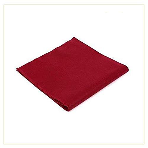 Palucart tovaglie in TNT 100x100 Confezione da 25 tovaglie Colore Bordeaux Tessuto Non Tessuto Ideali per la ristorazione