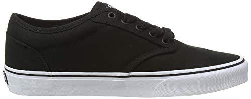 Vans Herren MN Atwood Sneakers, Schwarz (Blk/Wht 187), 44 EU