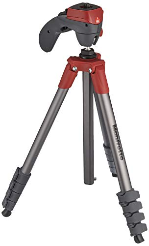 Manfrotto Compact Action Stativ rot