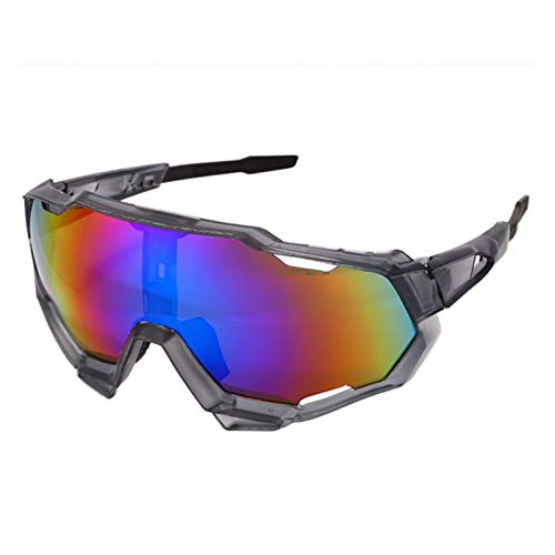 Gafas de ciclismo 2021 Cycling Ski Gafas Sport Cool Mountain Biking Ciclismo Gafas de sol Deportes Gafas Gafas UV400 Gafas de sol para hombres Mujeres gafas de sol ciclismo hombre ( Color : Style 6 )