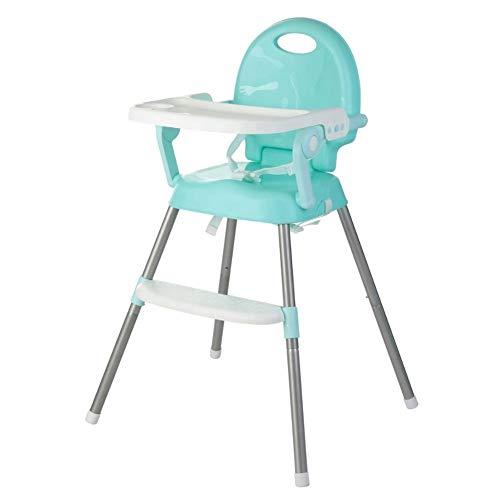 Vopee Baby-Hochstühle, faltbar und beweglicher Multifunktionssitz for Kinder zu Essen, Trapez- stabile Struktur for Babysicherheit