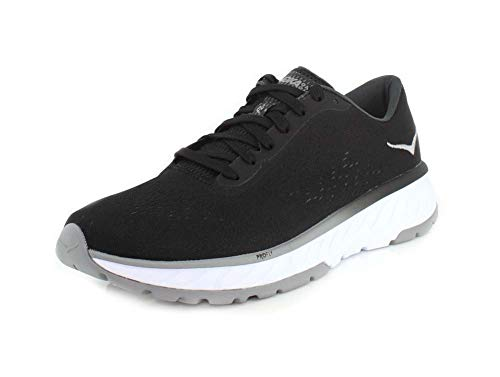 HOKA ONE ONE Mens Cavu 2 Black/White Running Shoe - 10