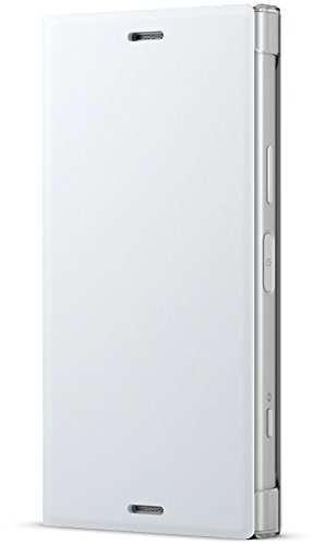Sony SCSG60 funda para teléfono móvil 11,7 cm (4.6') Libro Blanco - Fundas para teléfonos móviles (Libro, Sony, Xperia XZ1 Compact, 11,7 cm (4.6'), Blanco)