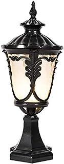 Mopoq Outdoor European-Style E27 Column Headlight Street Lamp Community Garden Door Column Headlight Outdoor Villa IP65 Wa...