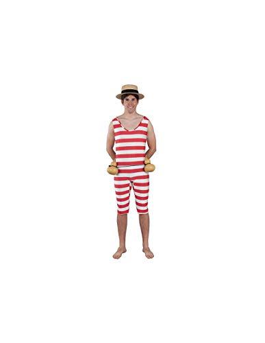 DISBACANAL Disfraz de bañista años 20 - -, XL