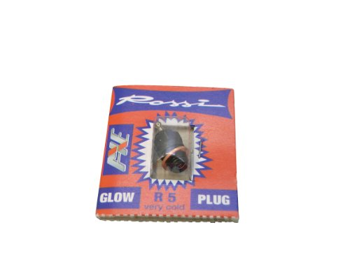 JAMARA 176905 - Glühkerze Rossi R5 für Kraftstoff mit hohem Nitromethan-Anteil, Mehrfarbig