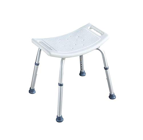 ZXY-NAN Bathroom Wheelchairs Bath Stools Bathroom Stools Shower Chair For Bathtub, Shower Stool Lightweight Bath Tub Bench Chair With Non-Slip Seat, Medical Adjustable Shower Chair Shower Seat Anti-Sl