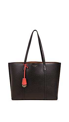 Tory Burch Women's Perry Tote, Black, One Size