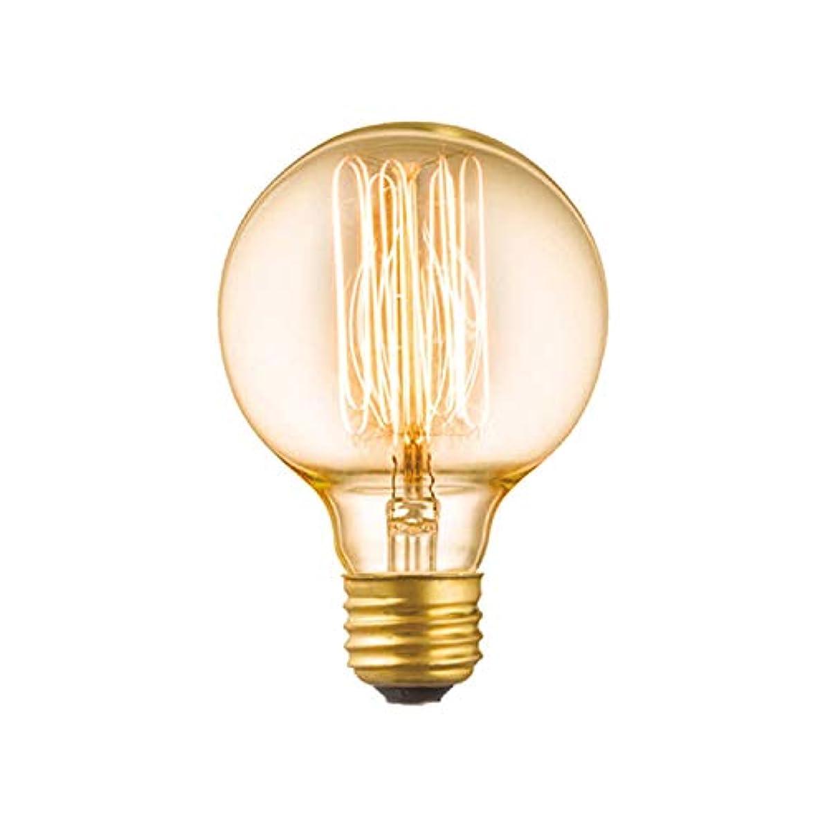 あたたかい徹底クリップART WORK STUDIO 白熱球 E26/60W G80 カーボン電球(クリア) BU1150