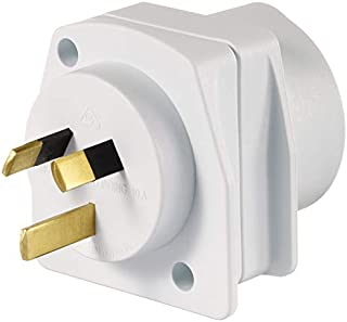 Qantas - European Visitor Travel Adaptor - White