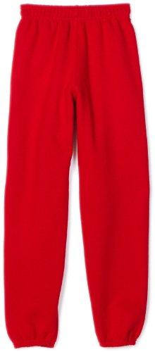 Soffe Big Boys' Sweatpant, Red, Small