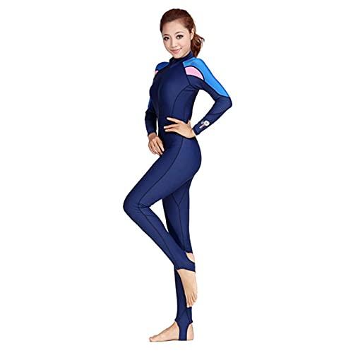 SHUNFENG-EU Traje de Doble Buceo Piel de Salto de Piel Wetsuits de Buceo Traje de Buceo Hombres o Mujeres Natación Traje de baño 1 unids Traje (Color : Women Suit, Size : XX-Large)