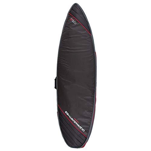 Ocean and Earth Aircon Heavy Weight - Bolsa para tabla de surf, color Negro, talla 7ft