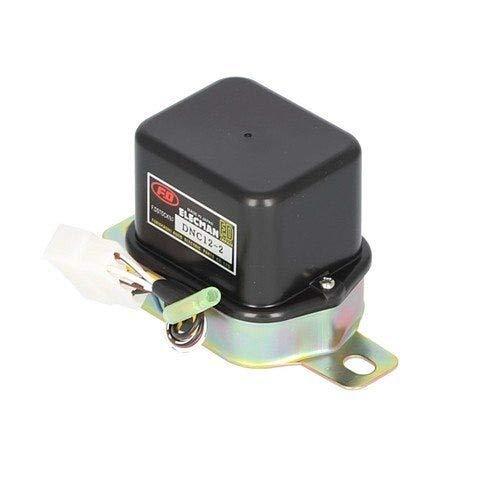 Voltage Regulator - Mechanical - 12 Volt Compatible with Kubota L245 L245 L245 M4030 M4030 M4030 M4030 M7030 M7030 M7030 M7030 M7030 M7030 M6950 M6950 M6950 M7950 M7950 M7950 M5950 Ford 2110 Yanmar