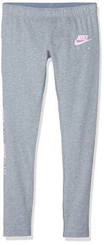 Nike Mädchen Legging Tight Favorites Air, Ashen Slate/Htr/pink Foam, S, AQ8833-445