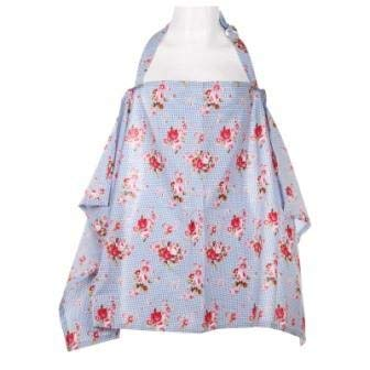 Check Out This Baby Nursing Poncho Covers Cotton Mum Breastfeeding Blanket Shawl Black Cherry/Blue C...