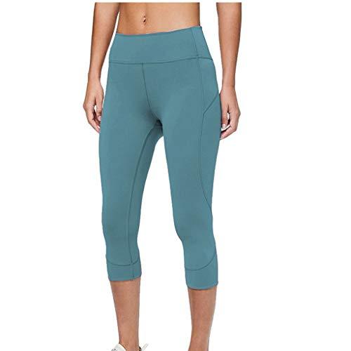 Damen Enge Hosen Stoffhose,Luotuo Frauen Mode Hohe Taille Einfarbig Super elastisch Bequem Lange Hose Slim Fit Business Hose Strumpfhosen