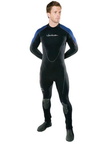 Henderson Thermoprene 3mm Men's Jumpsuit (Back Zip) - Black/Blue - Large