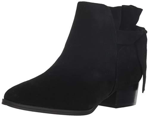 Aerosoles Women's Crosswalk Ankle Boot, Black Suede, 8 M US