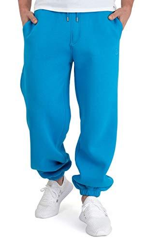 BACKSPIN Sportswear - Jogginghose Basic Farbe Process Blau, Größe XXL