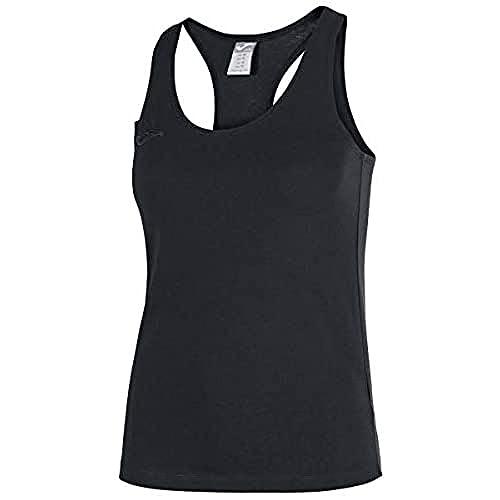 Joma Larisa Camiseta Tirantes, Mujer, Negro, L