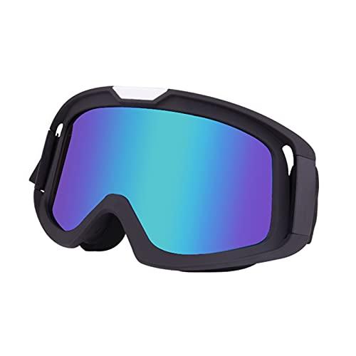 Occhiali da bici da cross, 370 antivento moto equitazione occhiali di sicurezza occhiali da sole per sport all'aria aperta per uomini donne adulti giovani